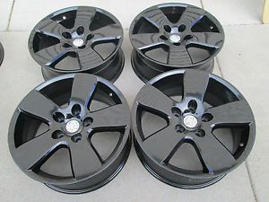 "20"" Dodge 1500 RAM Factory Black Powder Coated Wheels Rims 2013"