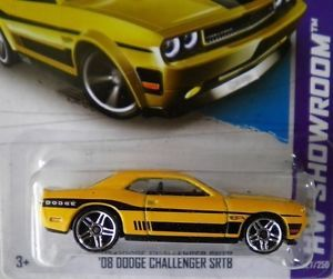 "Hot Wheels 2013 ""HW Showroom"" '08 Dodge Challenger SRT8 RARE PR5 Wheel Variant"
