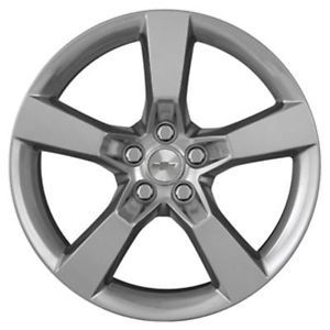 "4 20"" Staggered Factory Chevy Camaro SS Wheels Rims Silver GM 19260584"