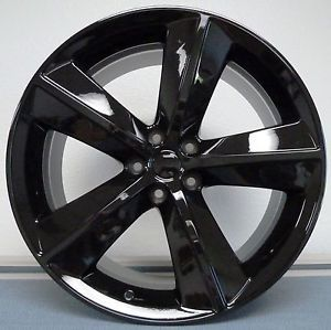 "22"" Tires Dodge Challenger GL Black SRT8 Charger Magnum 300C Wheels Rims Package"