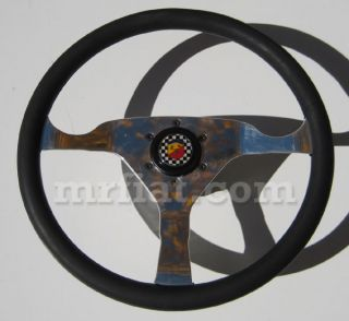 Fiat 500 Abarth Steering Wheel Racing Style New