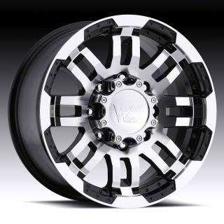 "18"" inch 5x5 5 Black Machined Wheels Rims 5 Lug Dodge RAM 1500 Durango Dakota"