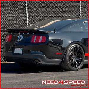 "20"" Ford Mustang Shelby GT500 Concave Matte Black Staggered Wheels Rims"