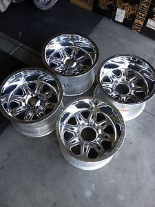 Weld Racing Cheyenne Rims 4 18x12 Ford 8x170