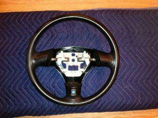 Mazda Miata Nardi Steering Wheel Black Leather