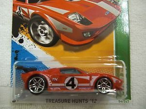 2012 Hot Wheels Treasure Hunt Ford GT