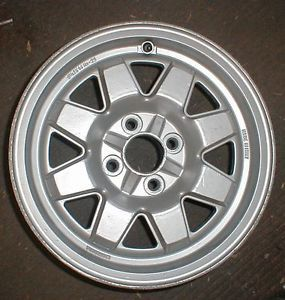 "Fiat 124 2000 Spider Cromodora Factory Alloy Wheel 14"" Turbo 1980 83 8909"