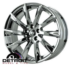 Jaguar XF PVD Bright Chrome Wheels Factory Rim 59885 Exchange 2011 2013