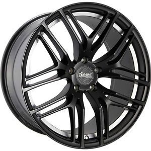 19x9 5 Black Advanti Racing Bello Wheels 5x4 5 35 Infiniti G37 IPL G Coupe G35