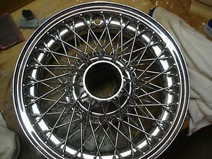 Jaguar Wire Wheels 72 Spoke Chrome