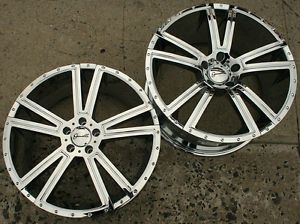 Gianelle Venezia 20 x 8 5 10 Chrome Rims Wheels Infiniti M45 Staggered 5H 35