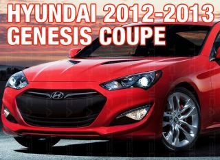 Fog Light Lamp Fog Lamp Cover 4pcs for Hyundai 2012 2013 Genesis Coupe
