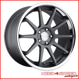 "20"" Infiniti G37 Coupe Concept One CS10 Concave Staggered Wheels Rims"