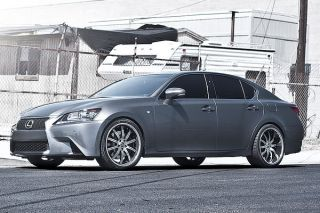 "20"" Lexus gs350 GS450 GS460 Machined Concave Roderick RW3 Rims Wheels"