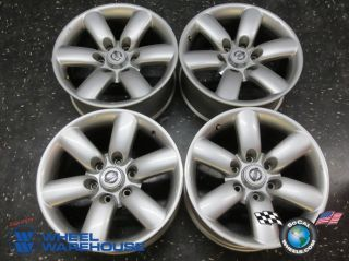 "Four 08 10 Nissan Titan Armada Factory 18"" Wheels Rims 62493 40300ZQ01BTA60"