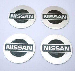 New Alloy Tyre Wheel Center Hub Cap Emblem Badge Stickers Nissan S