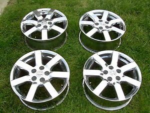 "Nissan Maxima 04 05 06 2004 2005 2006 Factory 17"" Chrome Rims Wheels SL SE"