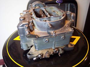 1957 57 Corvette Chevy Bel Air Carter WCFB 283 4 Barrel Carburetor for Parts
