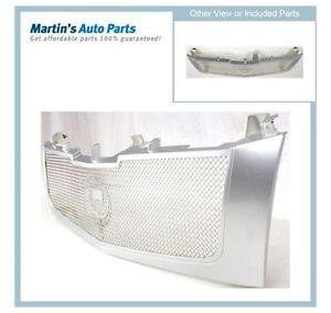 Chrome New Grille Assembly Cadillac Escalade 2006 2005 2004 2003 2002 Parts Car