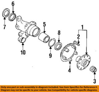 VW Rear Wheel Bearing