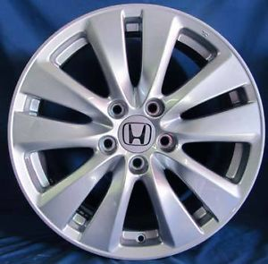 "17"" Honda Accord 2012 OE Wheels 4 Silver Rims"