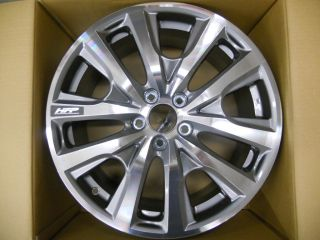 "2013 Genuine Honda Accord 19"" HFP Diamond Cut Alloy Wheel 08W19 T3L 100"