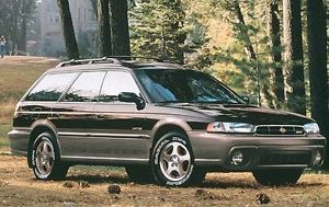 1999 Subaru Legacy Outback Factory Service Shop Repair Manual Parts List