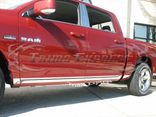 09 10 Dodge RAM Quad Cab Rocker Panel Trim