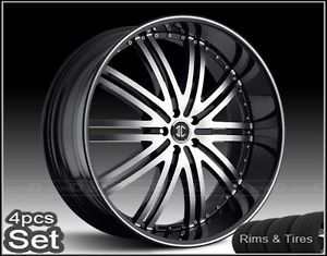 24inch Wheels and Tires Pkg for Land Range Rover Camaro Rims