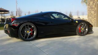 Novitec NF4 Forged Custom Painted Wheels Ferrari 458 Italia