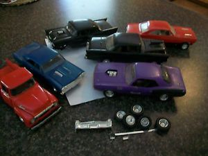 One Lot Model Car Truck Parts Chevy Dodge Ford Missing Peices