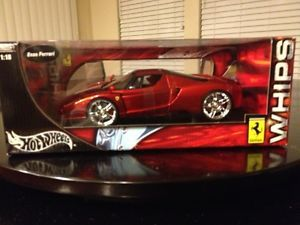 Hot Wheels Whips 1 18 Scale Ferrari Enzo F60