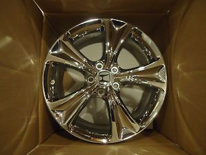 "64016 18"" Factory Honda Accord Chrome Wheels Rim 2008 13 4 Wheel Set"