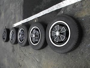 Volvo Wheels P 1800 Aluminum Wheels 165 R 15 Tires 1970 1971 1972 1969