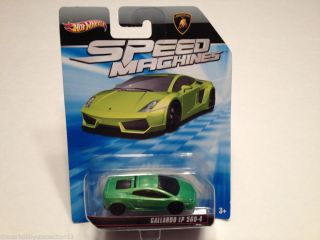Hot Wheels Speed Machines Lamborghini Gallardo LP 560 4 Green Diecast Car 1 64