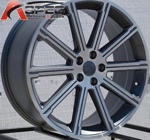 22x9 5 Land Rover Style Wheels 5x120 Rims Fits Range Rover Sport 2006 2011