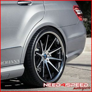 "20"" Mercedes Benz CLS550 CLS63 Rohana RC10 Deep Concave Staggered Wheels Rims"