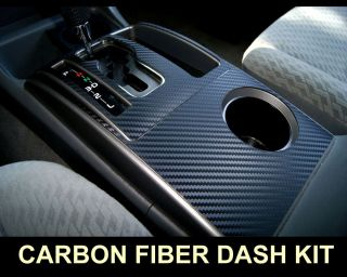 Nissan 350Z 06 08 Carbon Fiber Interior Dashboard Dash Trim Kit Parts Free