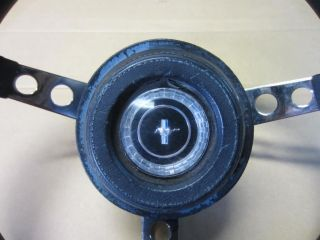 1967 Ford Mustang Original Steering Wheel Complete