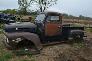 1952 Ford Pickup Cab Frame Box and Parts