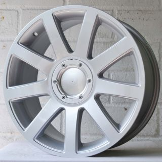 "18"" VW Transporter T4 Van 92 03 9 Spoke Silver Alloy Wheels 5x112"