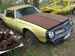 1975 Pontiac Firebird Formula Parts Salvage Donor Car 70 81 Trans Am Camaro