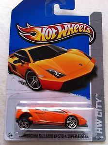Hot Wheels 2013 Lamborghini Gallardo LP 570 4 Error Must See Very RARE