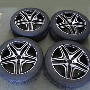 "20"" Wheels Tires Pkg Mercedes Benz ml Class ML320 ML350 ML500 ML550 GL350 20x9 5"