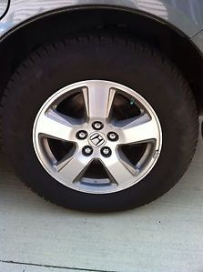 Honda Pilot Ridgeline Rims and Tires 09 12