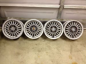 "RARE Set 4 13"" BMW E21 2002 320i 77 83 Turbine Wheels Rims 4x100 Honda Civic"