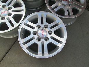 "16"" GMC Canyon Chevy Colorado Factory Machiened Wheels Rims"