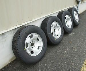 "2007 2013 Chevy Tahoe Suburban Avalanche Factory 17"" Alloy Wheels Tires"