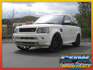 Range Rover Sport Supercharged Rims Tires Wheels Matte Black Marcellino