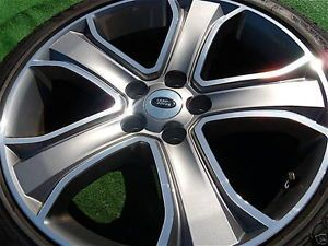 Set 4 Best Style 2012 Genuine Factory Range Rover Sport 20 inch Wheels Tires